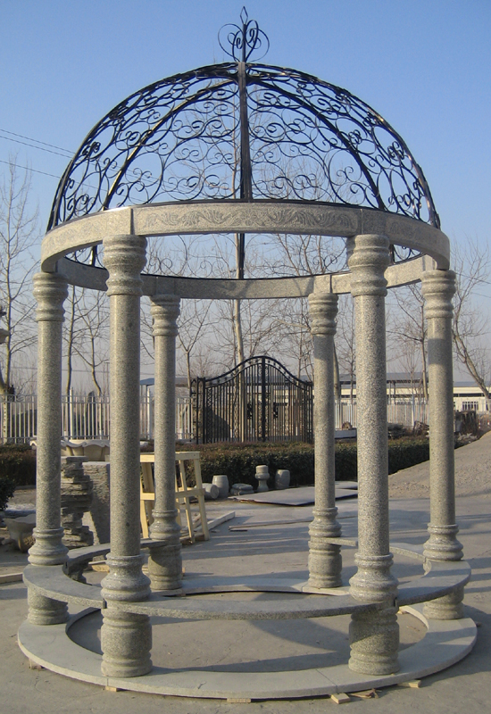 Cast iron gazebos